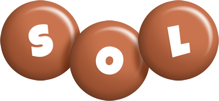 Sol candy-brown logo