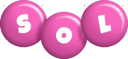 Sol candy-pink logo