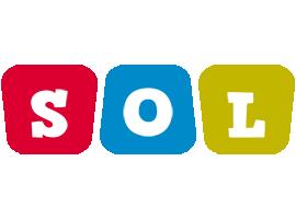 Sol daycare logo