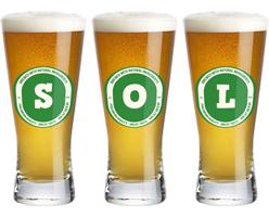 Sol lager logo