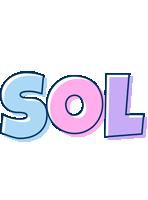 Sol pastel logo