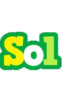 Sol soccer logo