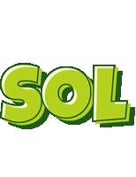 Sol summer logo