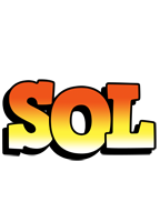 Sol sunset logo