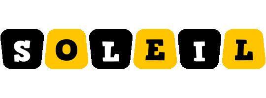 Soleil boots logo