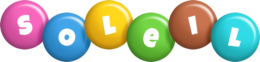 Soleil candy logo