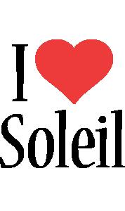Soleil i-love logo