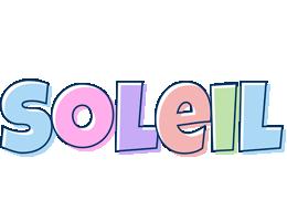 Soleil pastel logo