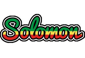 Solomon african logo