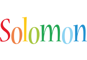 Solomon birthday logo