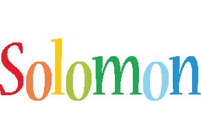 Solomon birthday logo