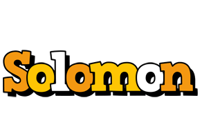 Solomon cartoon logo