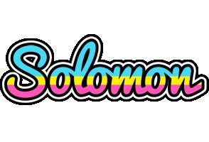 Solomon circus logo