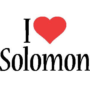 Solomon i-love logo