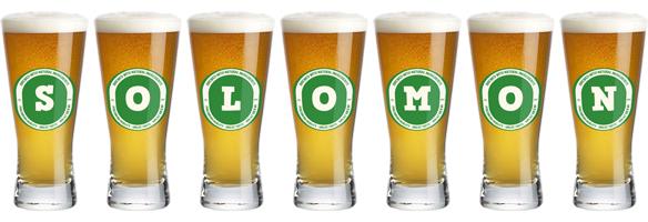 Solomon lager logo