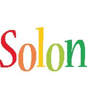 Solon birthday logo