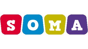 Soma daycare logo