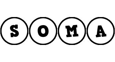 Soma handy logo