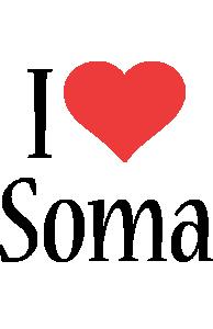 Soma i-love logo