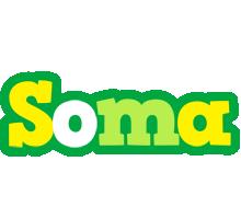 Soma soccer logo