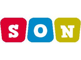 Son kiddo logo