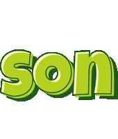 Son summer logo