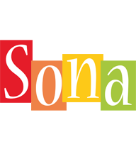 Sona colors logo