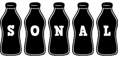 Sonal bottle logo