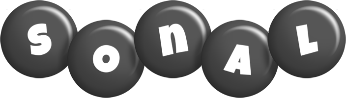 Sonal candy-black logo