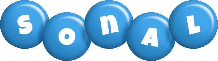 Sonal candy-blue logo