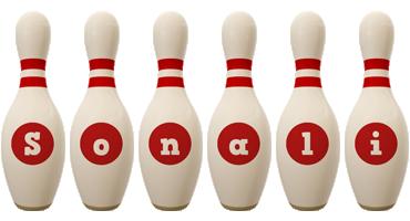 Sonali bowling-pin logo