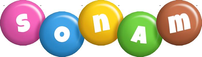 Sonam candy logo