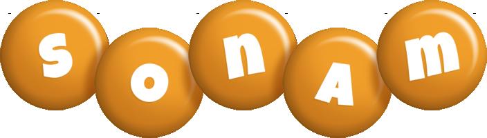 Sonam candy-orange logo