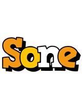 Sone cartoon logo