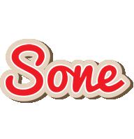 Sone chocolate logo