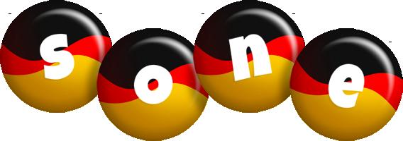 Sone german logo