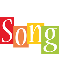 Song colors logo