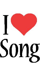 Song i-love logo