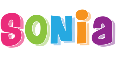Sonia friday logo
