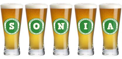 Sonia lager logo