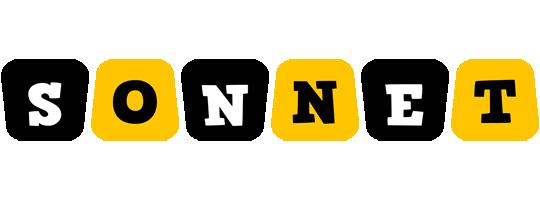 Sonnet boots logo