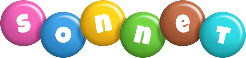 Sonnet candy logo