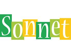 Sonnet lemonade logo