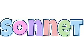Sonnet pastel logo