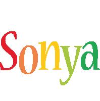 Sonya birthday logo