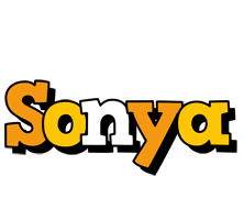 Sonya cartoon logo