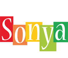 Sonya colors logo