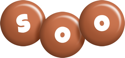 Soo candy-brown logo