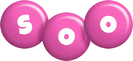 Soo candy-pink logo