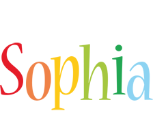 Sophia birthday logo